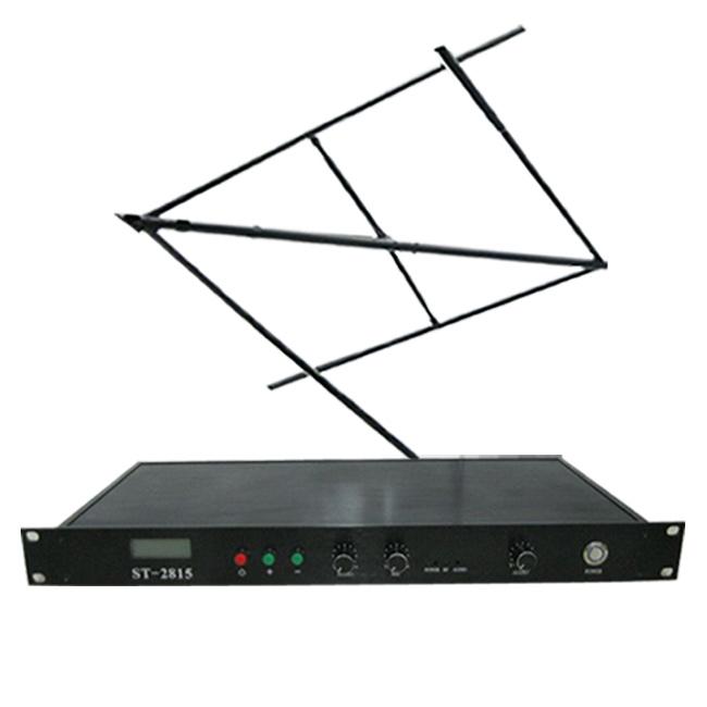 New 15w FM transmetues ST-2815 energjisë Adjustable 2w / 8w / 15w Wireles Microphone + CP100 Qarkorja Antena Kit