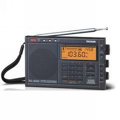 TECSUN PL600 PL-600 SHORTWAVE ایف ایم LW میگاواٹ LW PLL ایس ایس بی پورٹ ایبل ریڈیو