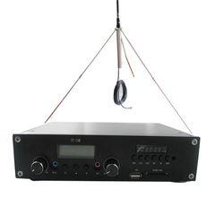 New! FMUSER ST-15M 15w FM transmitter PLL matangazo ya redio transmitter USB gari MP3 mchezaji 1 / 4 GP antenna KIT