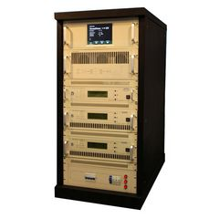 CZH618F-2KW 2KW 19'' RACK FM yayım transmitter Digital FM exciter