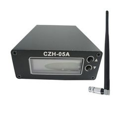 FMUSER CZH-05A 0.5W FM transmitter vir radio-uitsending FM stasie + Kort Antenna + Power supply KIT
