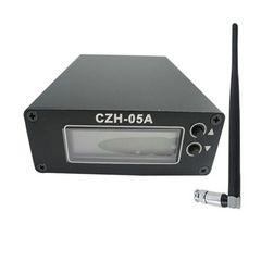 Radyo yayını FM istasyonu + Kısa Anten + Güç kaynağı KIT FMUSER CZH-05A 0.5W FM vericisi