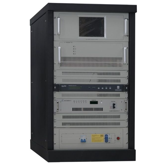 FMUSER CZH518A-1KW 1KW 1000W Analog TV-sändare för TV-station 4U Rack