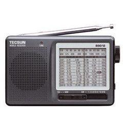 Receptor de rádio TECSUN R-9012 FM / MW / SW ondas curtas portátil Mini rádio FM com alto-falante embutido