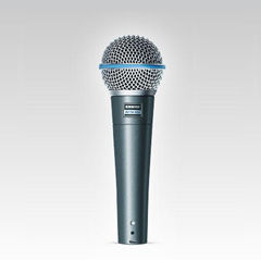 FMUSER Shure Beta 58A Dynamic Stage & Broadcast Vocal Mic Beta58 Уважаеми вокален микрофон