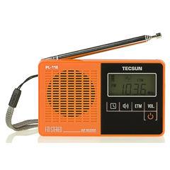 Stereo TECSUN PL-118 FM DSP ETM Kualitas Tinggi Profesional Receiver Mini Radio