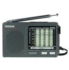 Portátil onda completa / MW Rádio SW TECSUN R1210 R-1210 Handheld Banda FM / receptor FM de alta sensibilidade
