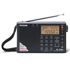 TECSUN PL-310ET FM AM MW SW LW DSP Receiver WORLD BAND RADIO Shortwave Digital Demodulation Stereo Radio
