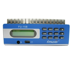 FMUSER CZH-15B CZE-15B 15w Low Power PLL FM Broadcast Radio Transmitter FM Exciter PC Control Temperature SWR Protection Power Adjustable for Smalll Radio Station Coverage Range 3-5km FU-15B SDA-15B