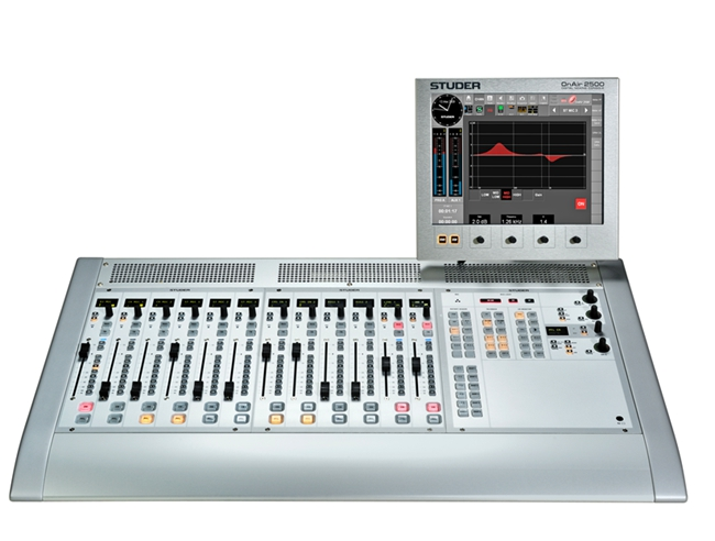 FMUSER OnAir 2500 Digital All-in-one Konsol Audio Mixer