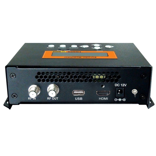 FUTV4622 DVB-T MPEG-4 AVC / H.264 HD Encoder Modulator (tuner, HDMI inn; RF out) med USB Oppgrader for hjemmebruk