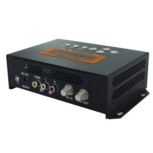 FUTV4652C ISDB-T MPEG2 SD Encoder Modulador (Tuner, Entrada de CVBS, salida de RF) para uso en el hogar