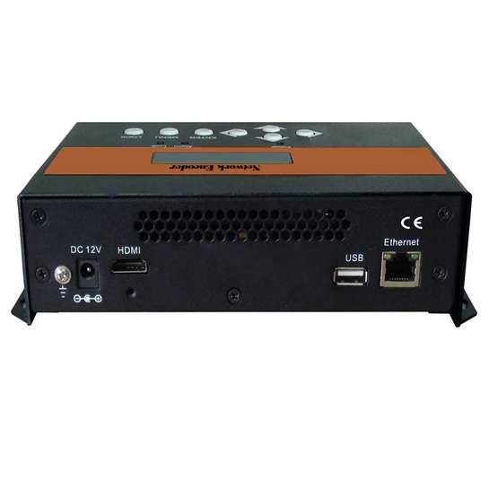 FUTV4658A HDMI MPEG 4 AVC / H.264 SD / Encoder over IP HD Network (HDMI inn, IP-UDP (multicast) via Internett, RTP / RTSP / HTTP / HLS via LAN ut) med USB Record og web-server Ledelse