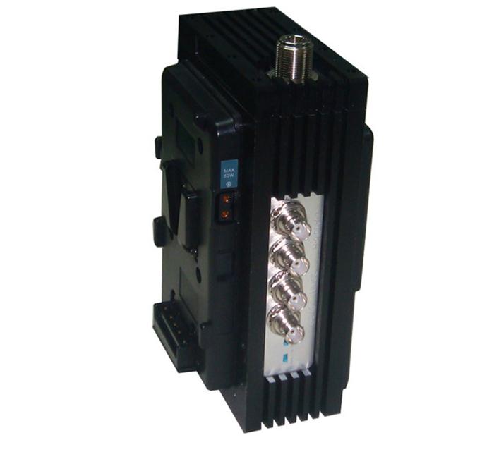 FMUSER FUTV-8201HE 1w 1KM Live Nouvèl Entèvyou UHF 720 SD SDI dmi COFDM MPEG2 4 H.264 emetris pou Kamera