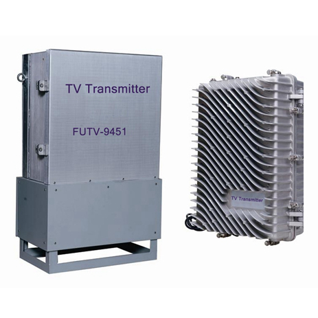 Fmuser FUTV-9451 Outdoor (50W) bandet muds Broadband DVB-T DTMB Digital HD SD mpeg2 TV Transmitter pengo filler amplifier
