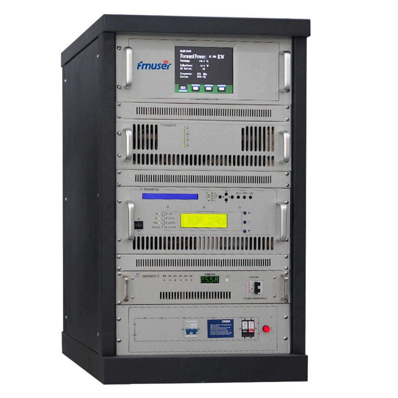 FMUSER CZH518D-500W 500w DVB-T Digital TV Territorial Broadcast Sender (DVB-T / T2 / ATSC / ISDB-T) Til Professionel TV Station