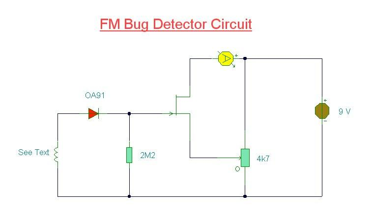 How to DIY Bug Detector?
