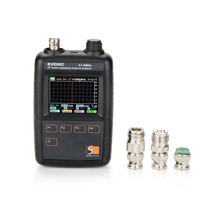 FMUSER KVE60C HF Shortwave SWR Analyzer Antenna Analyzer Vector