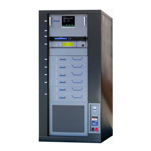 FMUSER FU518D-2KW 2000w DVB-T Televizor digital Transmisor de difuzare teritorială Televizor Numerique Terrestre TNT RS485 / 232 Control MCU pentru stația TV profesională