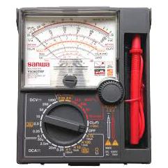 Fmuser Original Sanwa YX360TRF Multímetro mecánico analógico Puntero de alta precisión Probador de protección contra caídas