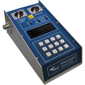 FMUSER Original Bird4391A Digital strømmåler Peak Pulse Fast element RF Power Analyst