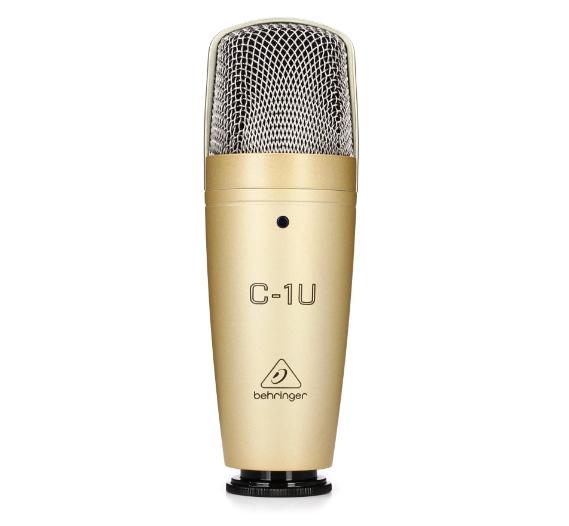 FMUSER Genuine Behringer C-1U Studio Condenser USB Microphone