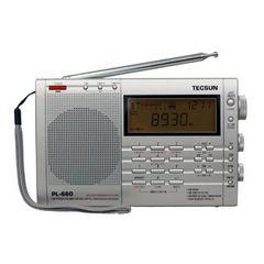 TECSUN PL-660 PL660 portátil PLL AIR / FM / MW / LW / SW SSB sintetizado PL660 radio FM