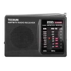 TESCUN portátil R202T R-202T FM AM MW TV receptor de radio de peto Campus radio