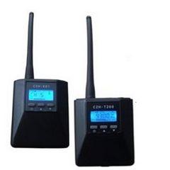 FMUSER CZH-T200 0.2W FM Radio Darlledu Trosglwyddydd + R01 Derbynnydd