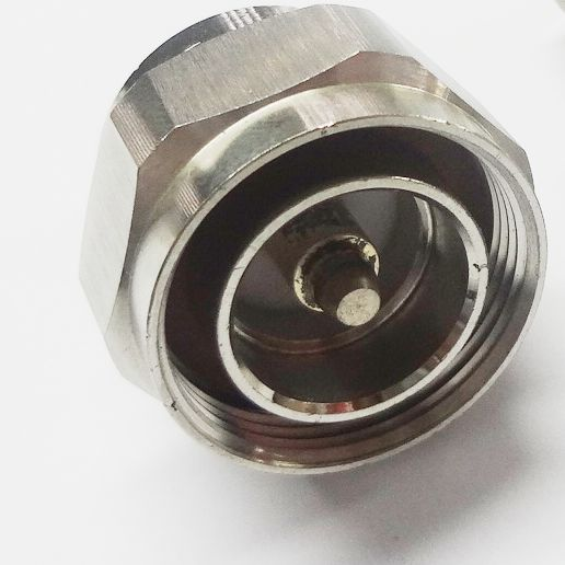 FMUSER RF Connector L29 Moški 7 / 16 DIN moški na N Ženska NK Adapter Connector