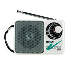 TECSUN R-201T peto mini-size typeFM TV Receptor de radio Radio Stereo