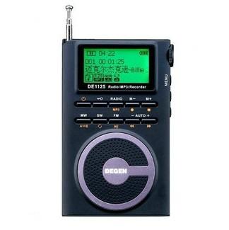 DEGEN DE1125 एफएम / मेगावाट / दप डीएसपी रेडियो / 4GMP3 / रिकॉर्डर