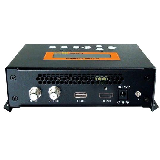 FUTV4622 DVB-T MPEG-4 AVC / H.264 HD编码器调制器(调谐器,HD输入; RF输出),带USB升级,适合家庭使用