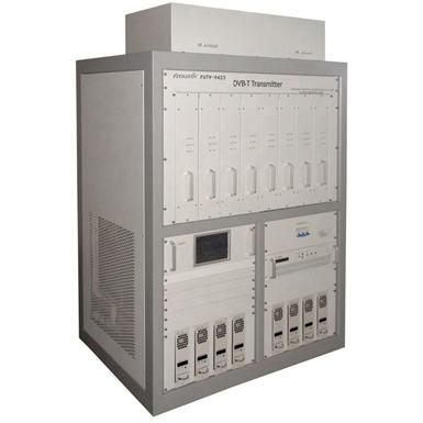 FMUSER FUTV-9423 (5000W) UHF MUDS Bredband HD SD MPEG2 4 H.264 DVB-T TV-sändning Sändare SFN ATSC-T 2KW solid förstärkare