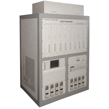 FMUSER FUTV-9423 (5000W) MUD UHF Broadband HD SD MPEG2 4 H.264 DVB-T Trasmissione TV Trasmettitore SFN ATSC-T Amplificatore solido 2KW