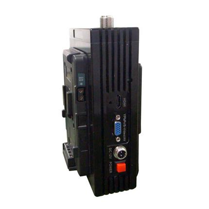 FMUSER FUTV-8221H 3w 5KM Live Nyheterna Intervju UHF 720 HD HDMI COFDM MPEG2 4 H.264 sändare för kameran