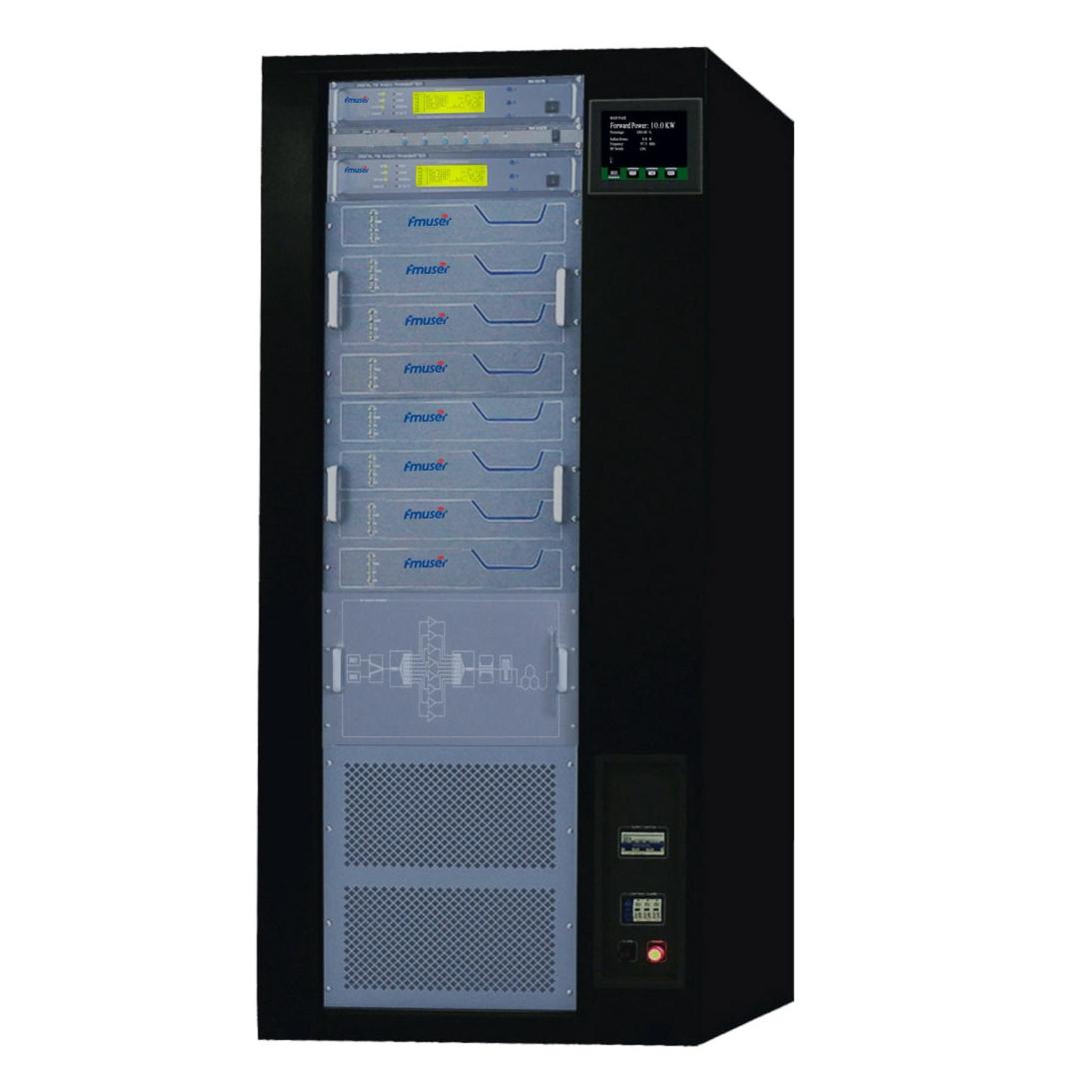 CZH618F-10KW पेशेवर एफएम ट्रांसमीटर 10000w रेडियो प्रसारण एफएम ट्रांसमीटर उत्तेजक