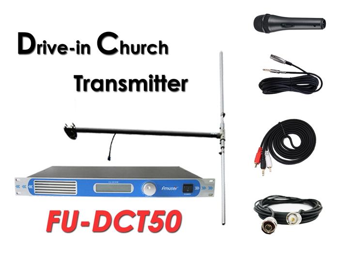 Hulgimüük Amazon FMUSER FU-30 / 50B 50Watt FM-raadiosaatja 0-50Watt reguleeritav võimsus FM-raadiojaama jaoks / Drive-in kirikuteenus / kino / parkimiskohad CZE-T501 CZH-T501